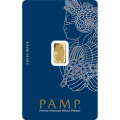 1g Gold Bar - PAMP Suisse Lady Fortuna Veriscan Certicard